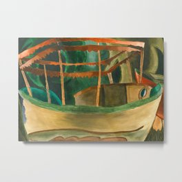 Fishboat by Arthur Dove, 1930 Metal Print