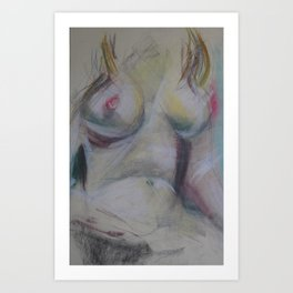 Klooster Series: Female Nude #227 Art Print