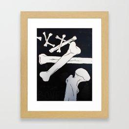 """""""John Donne's Bones"""" Framed Art Print"""