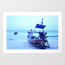 YOU WANTED THE SEA Art Print