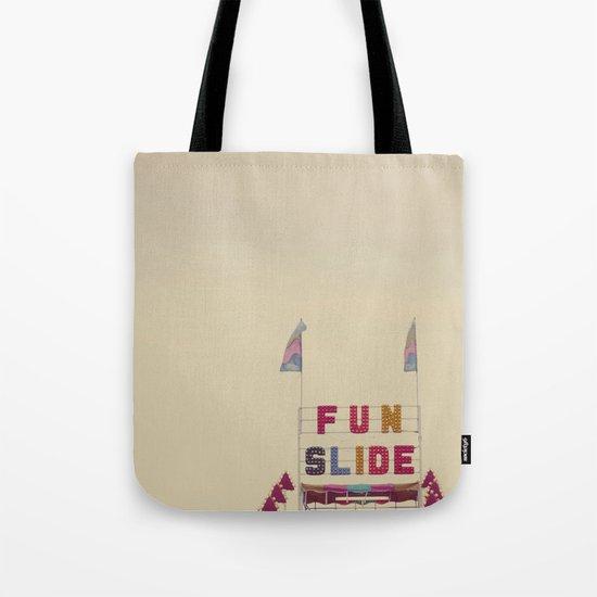 Fun Slide Tote Bag