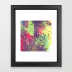 We Live In History Framed Art Print