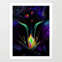 Abstract perfection - Atrium 100 Art Print