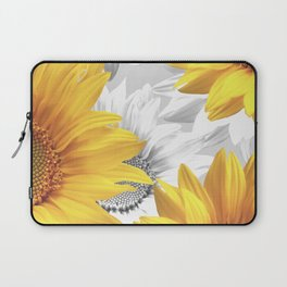 Sunflower Bouquet #decor #society6 #buyart Laptop Sleeve