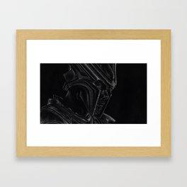 Asgard's Eyes Framed Art Print