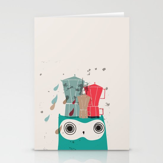 Owl Aloud Stationery Cards