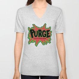 purge Unisex V-Neck