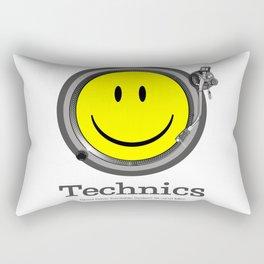Technics. Deejay Rectangular Pillow