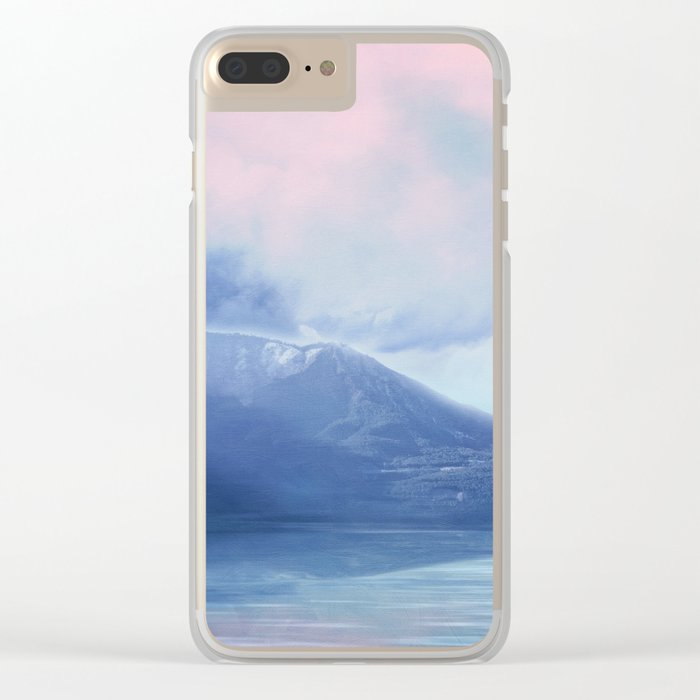 Pastel vibes 60 Clear iPhone Case