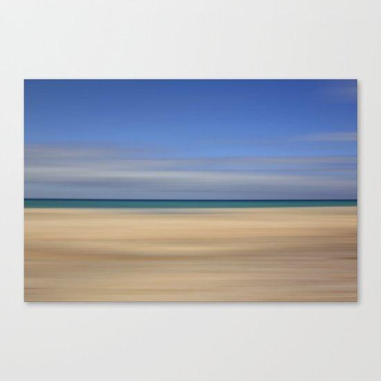 summer beach II Canvas Print