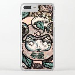Dada Clear iPhone Case