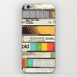 VHS Detail I iPhone Skin