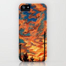 Street Meets Sky  iPhone Case