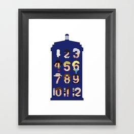 The Number Who Framed Art Print