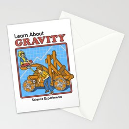 LEARN ABOUT GRAVITY Stationery Cards
