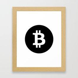 Bitcoin 18 Framed Art Print