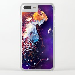 First Contact Clear iPhone Case