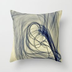 A Web for a Blanket Throw Pillow