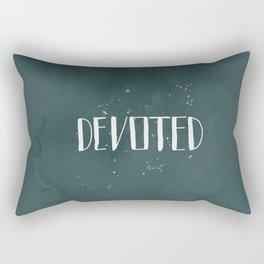 Devoted Themselves Rectangular Pillow