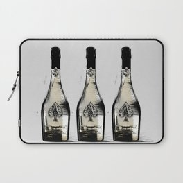 spade champagne Gold, illustration by miart Laptop Sleeve