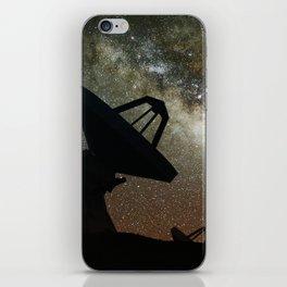 Radio Telescopes and Milky Way iPhone Skin