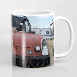 Beat Up Car Coffee Mug