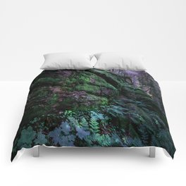 Enchanted Forest Wall (Where the Fairies Dwell) Comforters