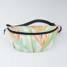 Birds of Paradise ~ tropical bouquet Fanny Pack