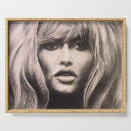 Brigitte Bardot Mane Serving Tray