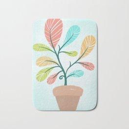 Potted Plant Bath Mat