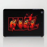 kill la kill iPad Cases featuring Kill by MauroPeroni