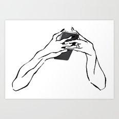 everyone iPhone Art Print