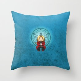 Ed Elric Throw Pillow