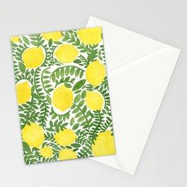 The Fresh Lemon Stationery Cards