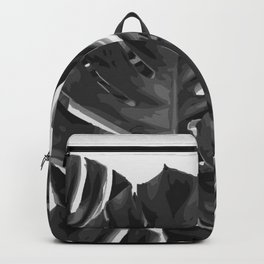 Monstera_Le_2 Backpack