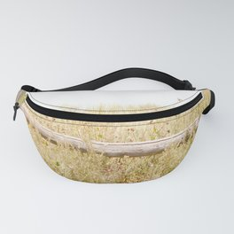 Travel photography Spring fence I Fanny Pack