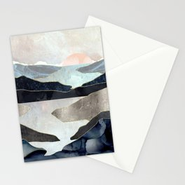 Blue Mountain Lake Stationery Cards