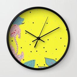 reve jaune Wall Clock