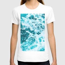 Deep Turquoise Sea - Nature Photography T-shirt