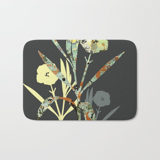 Floral Decor III Bath Mat