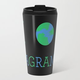 I heart Anagrams Travel Mug