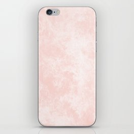 Pink Coral Marble iPhone Skin