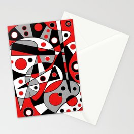 Abstract #962 Stationery Cards