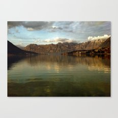 Kotor Bay Canvas Print