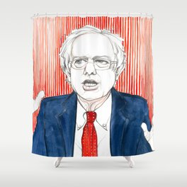 BERNIE HANDS Shower Curtain