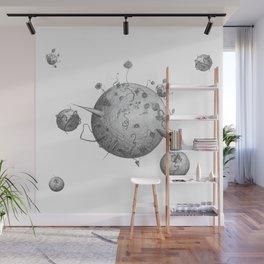 Post Human Planets Wall Mural