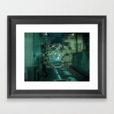 Tokyo Beware Framed Art Print