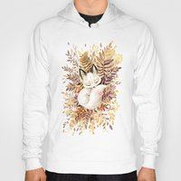 fox Hoodies featuring Slumber by Freeminds