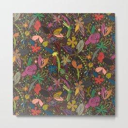 Flower seeds - tropical Metal Print