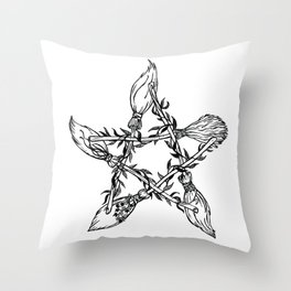 Coven Throw Pillow